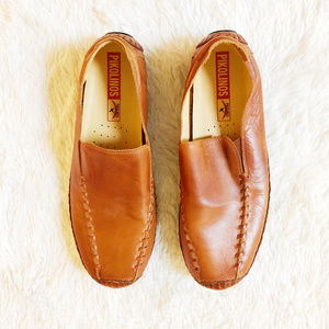 Pikolino's Brown Leather Smoking Loafer SZ46 US 13